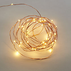 copper sprinkle 21' line lights