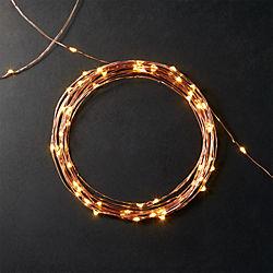 copper sprinkle 21' line lights
