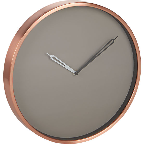 CopperWallClockS16