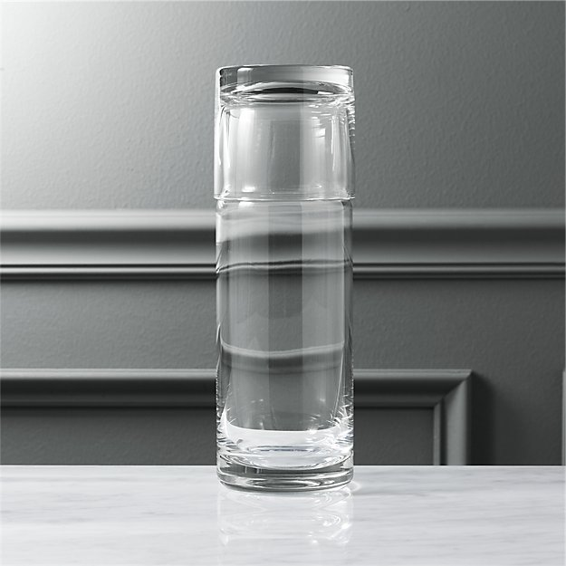 Cora Bedside Carafe with Glass