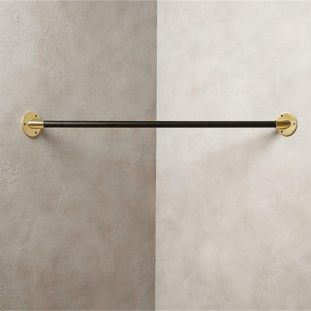 corner hanging bar