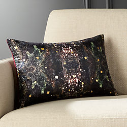 "18""x12"" Cosmic Galaxy Pillow with Down-Alternative Insert"