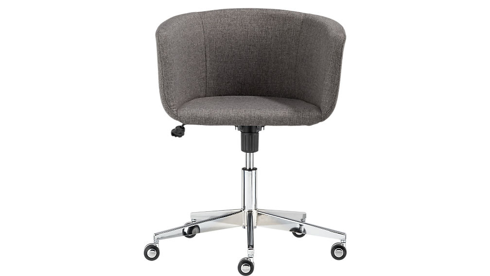 Coup Grey Office Chair CB - Grey office chair