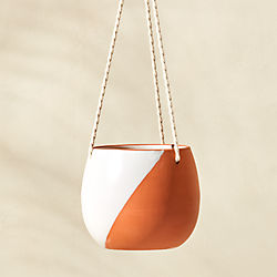 cove large hanging planter
