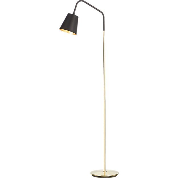 Crane Black Shade Floor Lamp Reviews Cb2