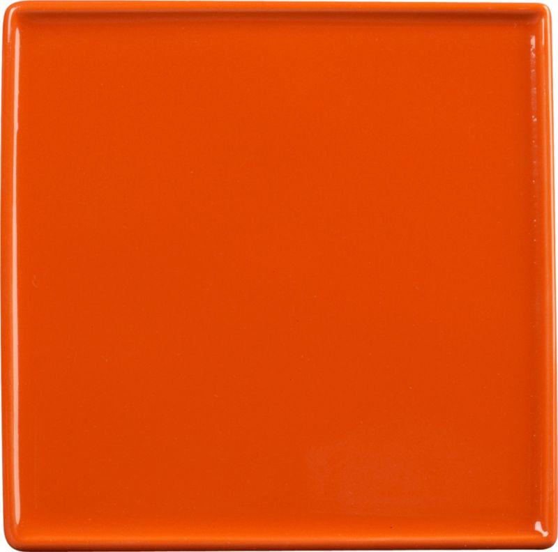 crewcut square pepperhot appetizer plate