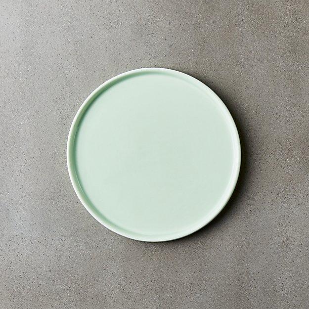 Crewcut Round Mint Appetizer Plate
