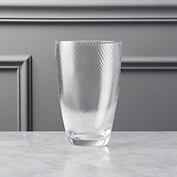 crimp cooler glass - Highball Glasses