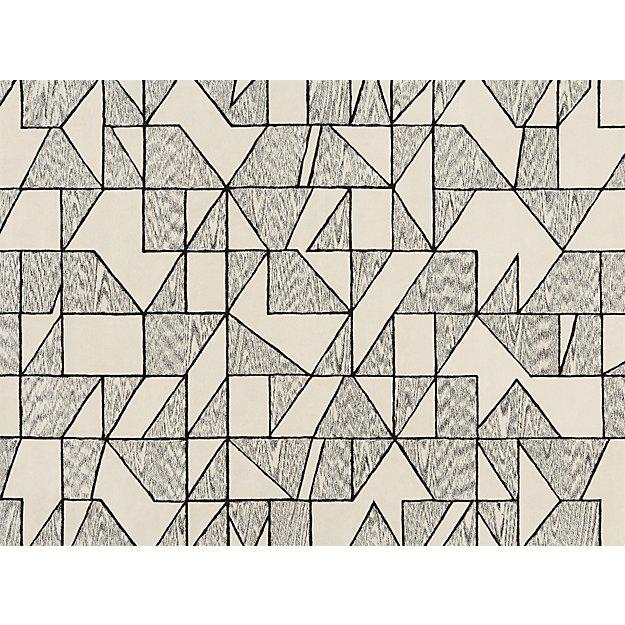 crisp black and white rug 9x12 reviews cb2 - Black And White Rug