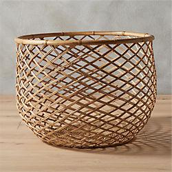 crossover natural basket