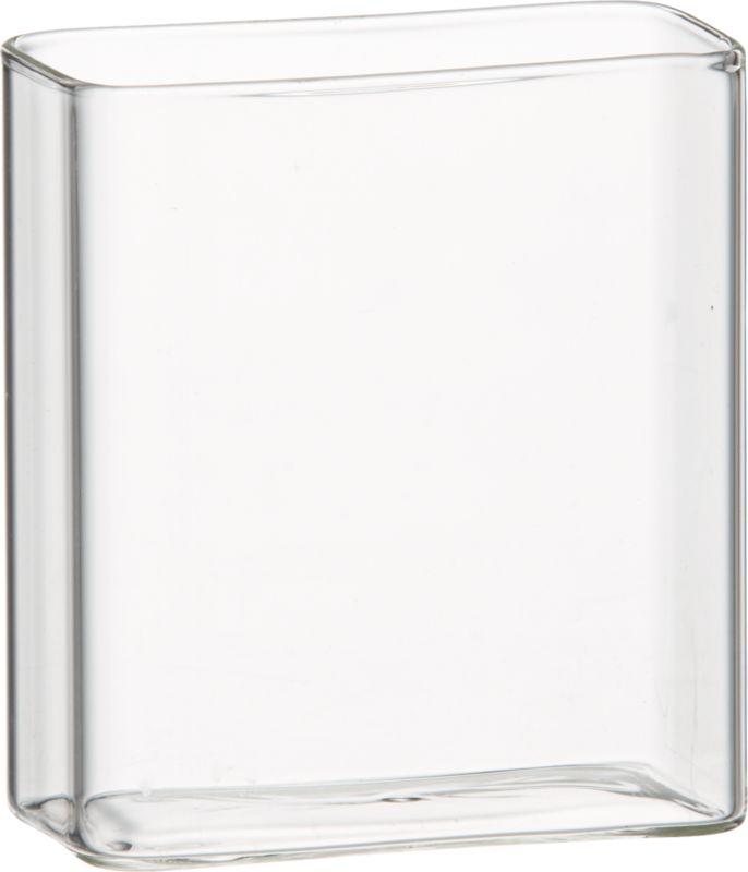 "cuboid 4"" vase"