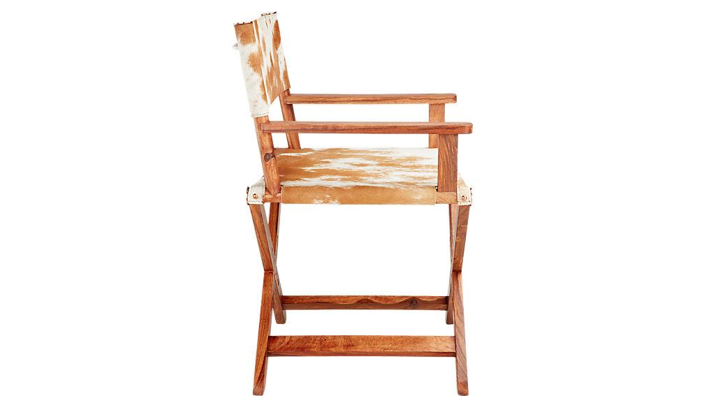 curator cowhide chair