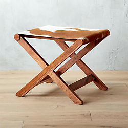 curator hide stool-table