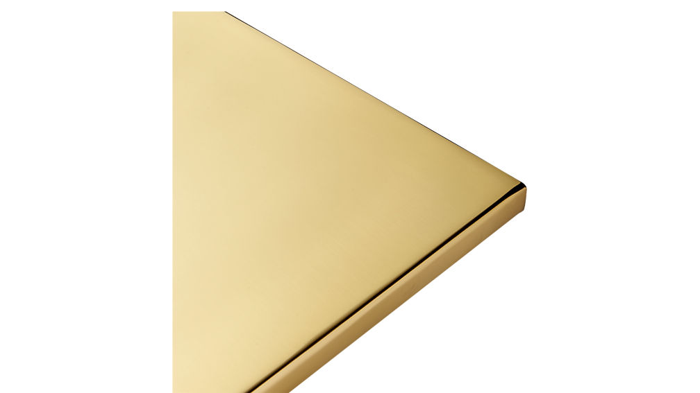 Curve Gold Side Table