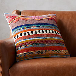 "16"" cusco pillow with down-alternative insert"