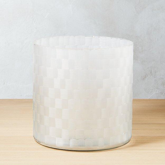 Cut Glass Planter-Vase