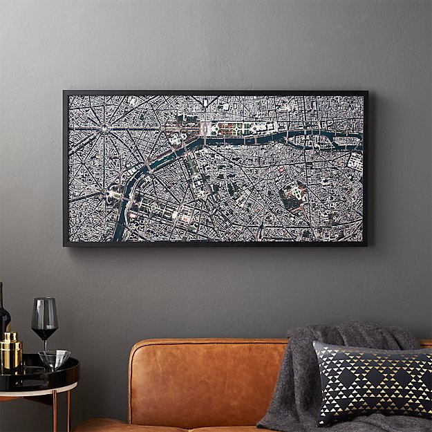 paris by benjamin grant of daily overview