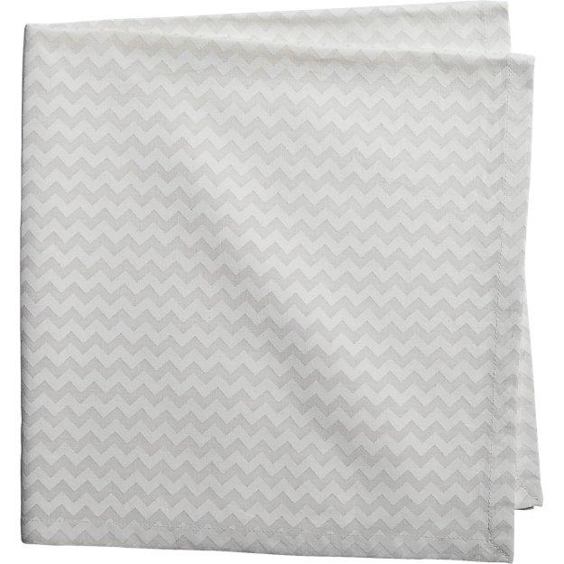 dab linen white napkin