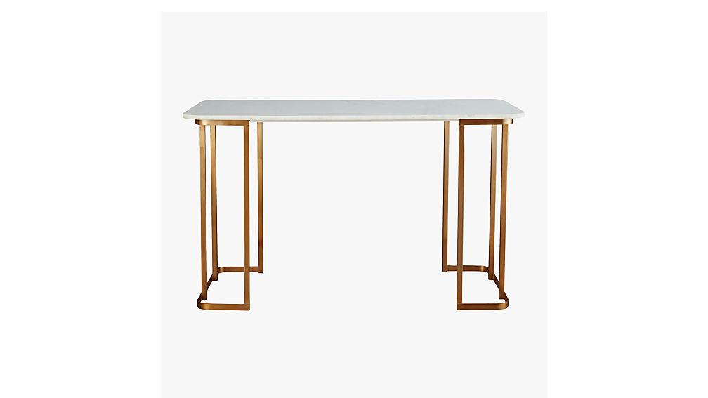 dahlia marble desk