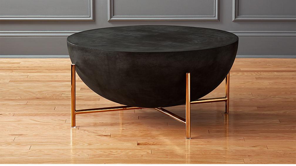 darbuka brass coffee table