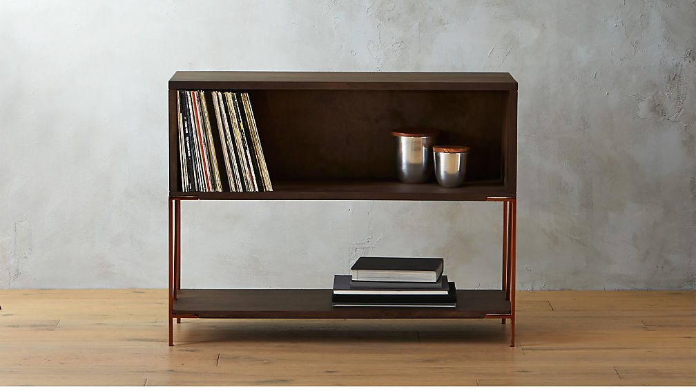 Dean Record Cabinet Console Reviews Cb2