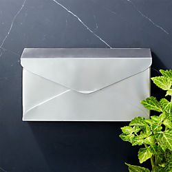 Delivered Stainless Steel Mailbox