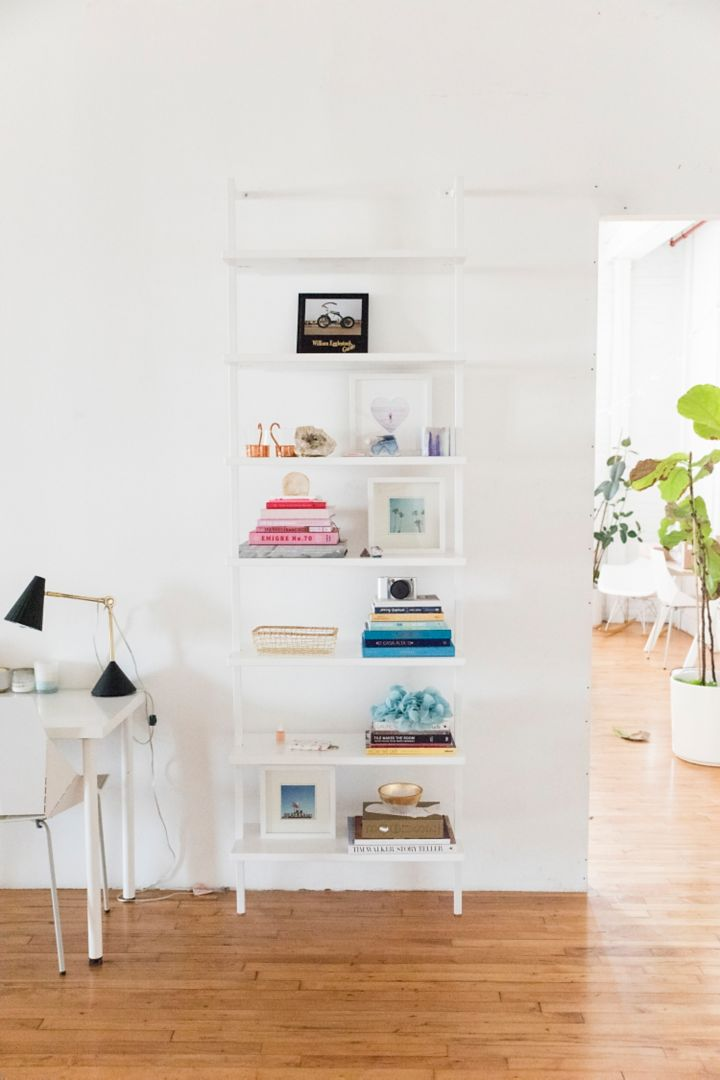 We Have Tons Of Pretty Props Around The Studio So Used Stairway Wall Mounted Bookcase To Show Them Off These Shelves Are Great On Their Own