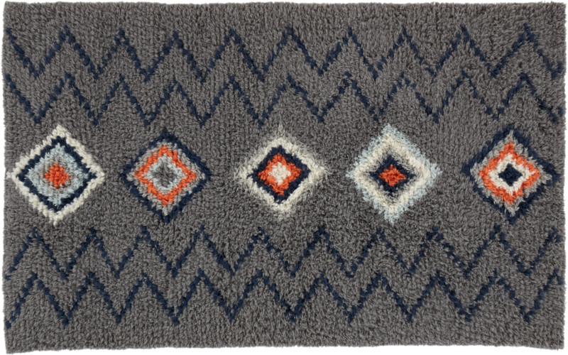 diamond shag rug 5x8