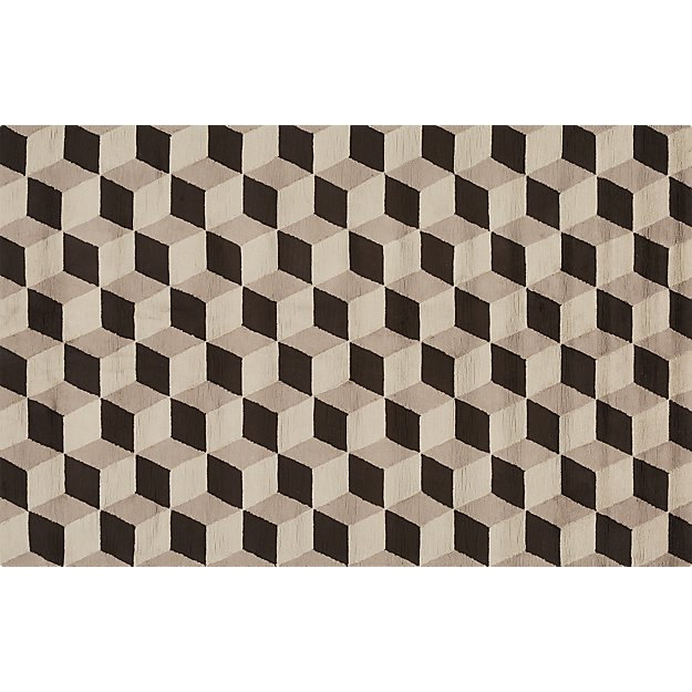 Dimension Viscose Rug 5'x8'