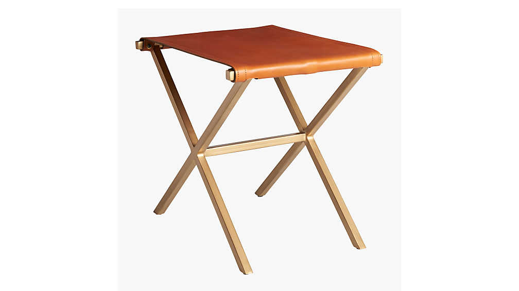 leather director's stool