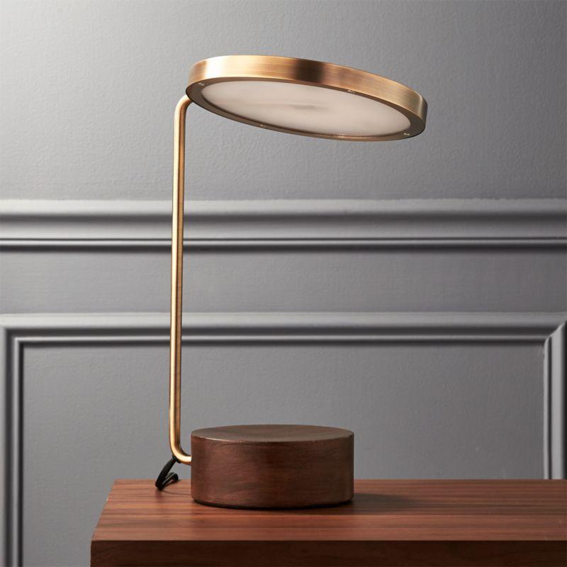 Tate Led Usb Table Lamp Reviews Cb2