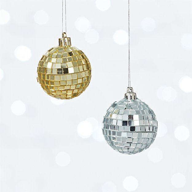 disco ball ornaments