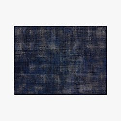 The Hill-Side Disintegrated Floral Blue Rug 9'x12'