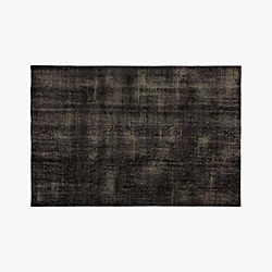The Hill-Side Disintegrated Floral Grey Rug 6'x9'