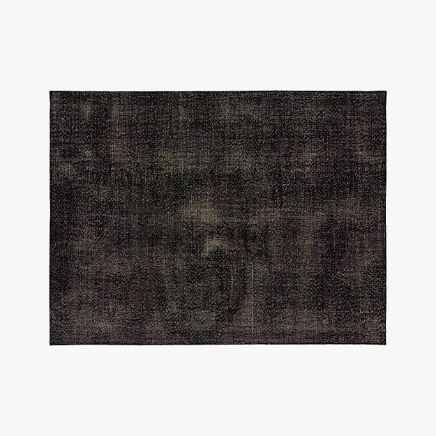 The Hill-Side Disintegrated Floral Grey Rug 9'x12'