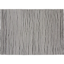 distorted pleat grey and black rug 9'x12'