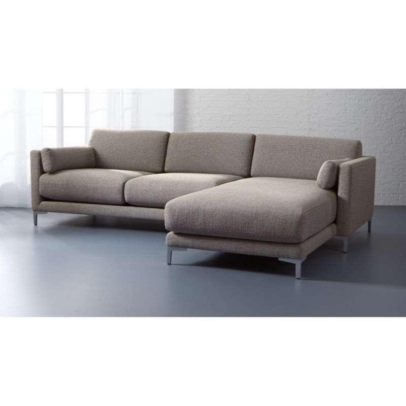 district 2piece sectional sofa Reviews CB2