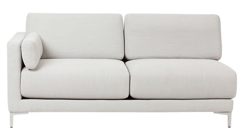 district dove 2-piece sectional sofa