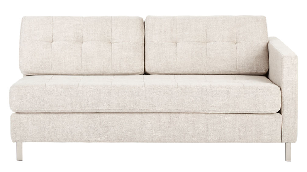 ditto II hemp tufted sectional sofa