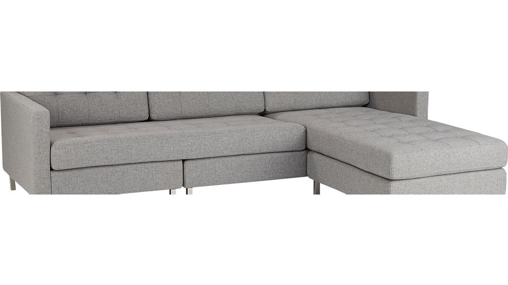 ditto II sunflower sectional sofa
