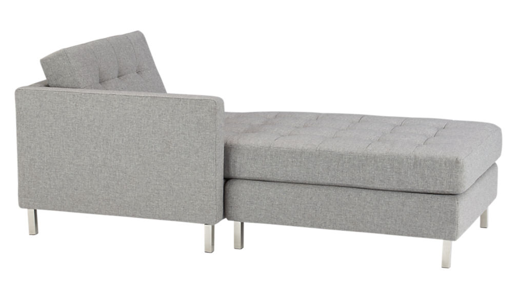 ditto II chestnut sectional sofa