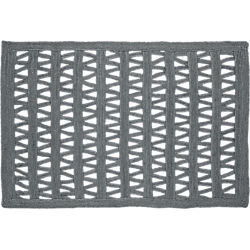 divide gray jute rug 5'x8'
