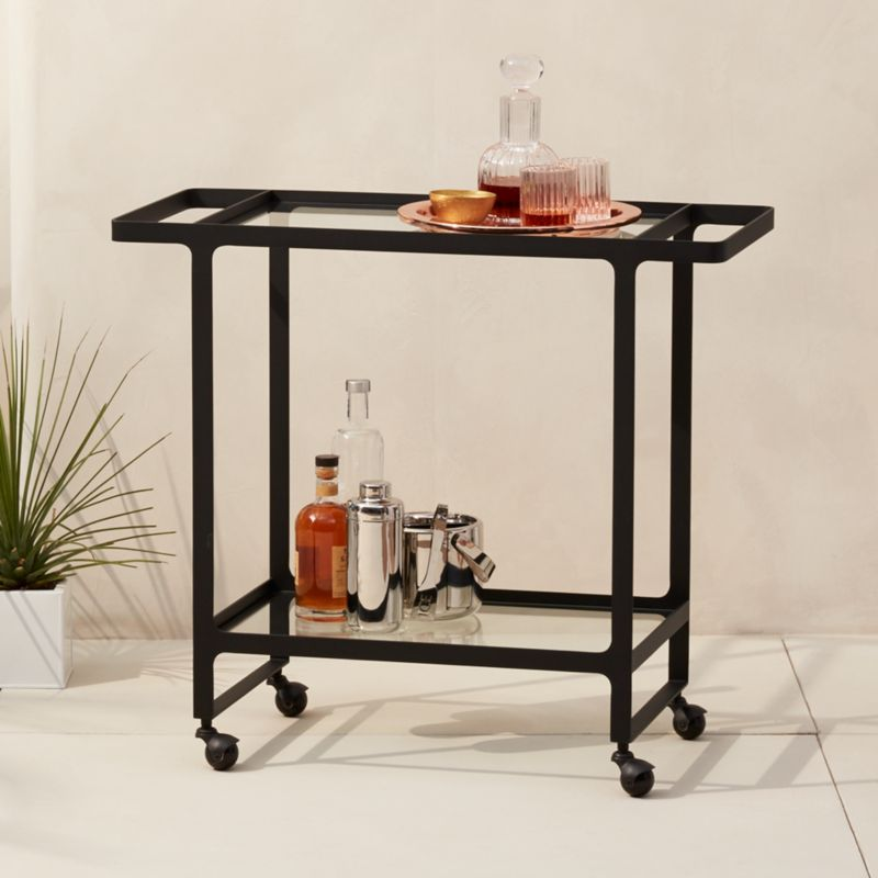Modern Bar Carts and Home Bars | CB2