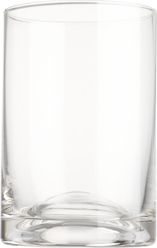 """<span class=""""copyHeader"""">on the bubble.</span> Simple modern cooler raises a glass to subtle sculpture. Handblown of clear soda glass, smooth dome bubbles up from the substantial base to create a composition of curves and planes.<br /><br /><NEWTAG/><ul><li>Handmade</li><li>Soda glass</li><li>Dishwasher-safe</li></ul>"""