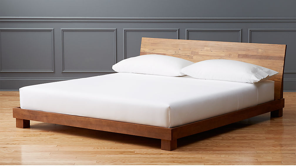 Dondra Teak King Bed In Beds Reviews Cb2