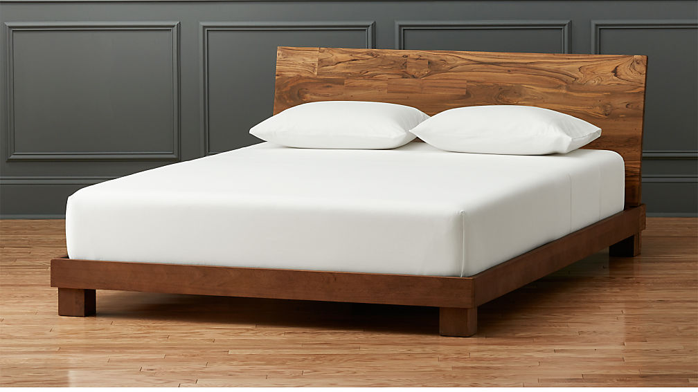 Bed Pictures dondra teak bed | cb2