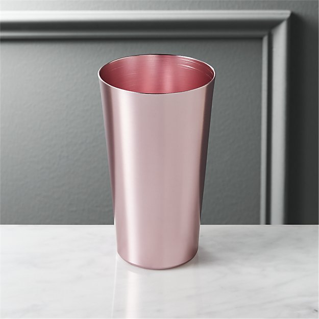 doris light pink aluminum tumbler