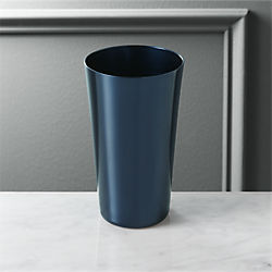 doris navy blue aluminum tumbler