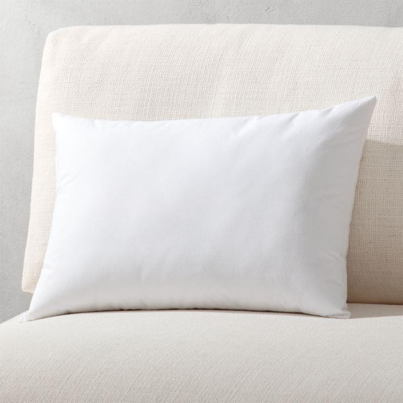 """18""""x12"""" down alternative pillow insert"""