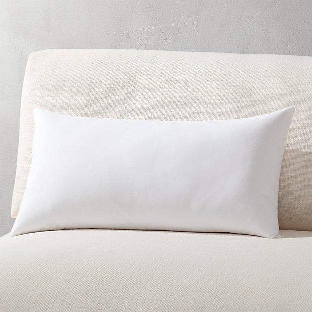 """23""""x11"""" down alternative pillow insert"""